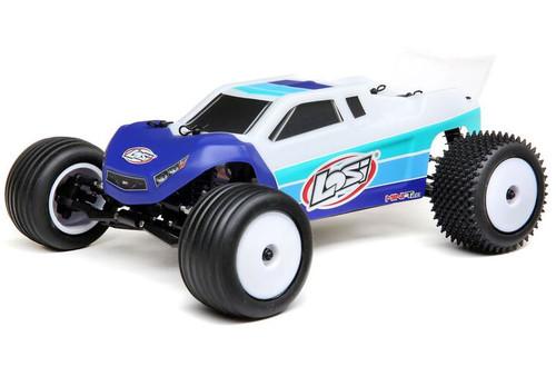 Losi 1/18 Mini-T 2.0 2WD Stadium Truck Brushless RTR Blue