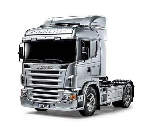 Tamiya 56364 1/14 Scania R470 Highline Silver Edition