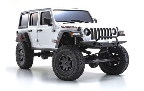 Kyosho 32521W MINI-Z RS MX-01 Jeep Wrangler Rubicon 4x4 Bright White