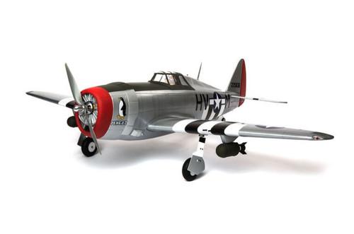 "Hangar 9 P-47D Thunderbolt 20cc ARF 67"""