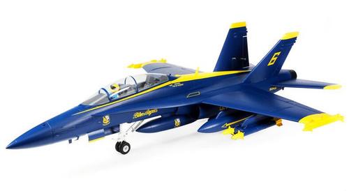 E-flite F-18 Blue Angels 80mm EDF BNF Basic