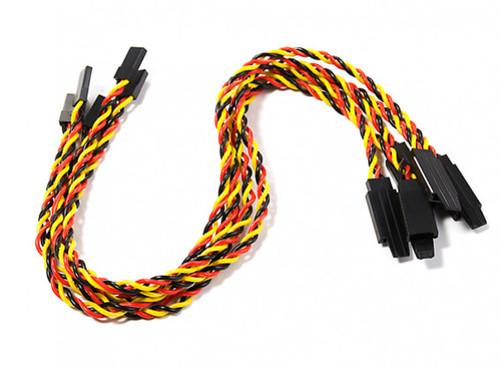 30cm Twisted JR Servo Lead Extension w/Hook 22AWG