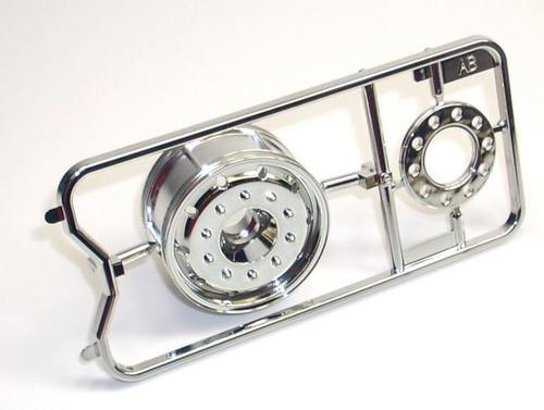 Tamiya 19335674 1/14 Mercedes Actros Spare Part Rim Front AB Wheel Bag