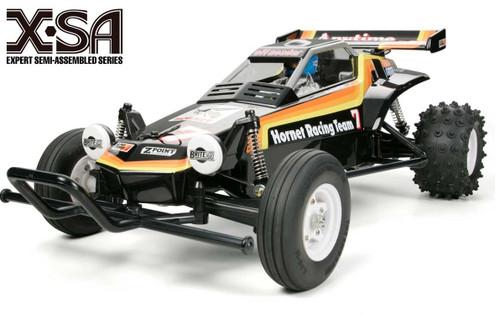 Tamiya 1/10 X-SA Expert-Semi-Assembled Hornet EP Car Kit w/ ESC