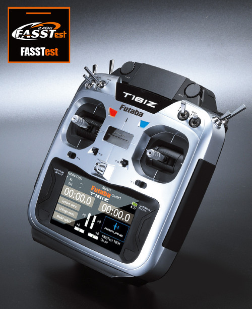Futaba 16IZ 18CH Transmitter Combo w/R7108SB Recevier Mode 2 - LATEST!