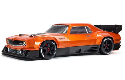 Arrma 1/7 FELONY 6S BLX Street Bash All-Road Muscle Car RTR Orange