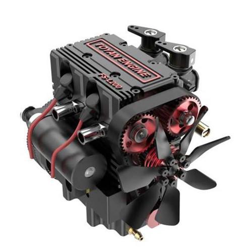 Toyan FS-L200 7cc 4 Stroke Twin Cylinder Model Engine Kit