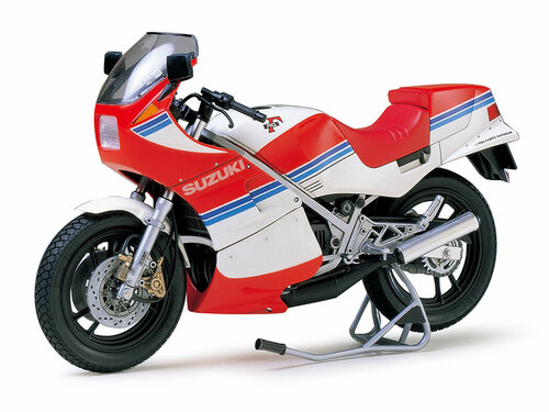 Tamiya 1/12 Suzuki RG250 with Full Options