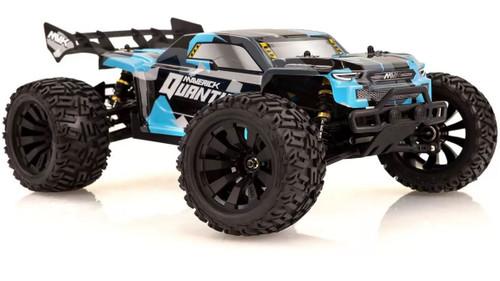 Maverick 1/10 Quantum+ XT Flux Electric 3S Brushless Off Road RTR RC Truck -Blue