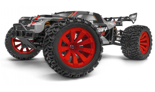 Maverick 1/10 Quantum+ XT Flux Electric 3S Brushless Off Road RTR RC Truck -Red