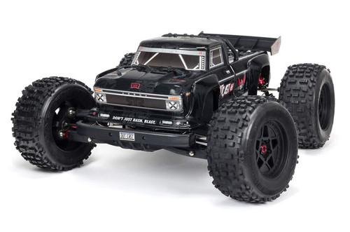 Arrma 1/8 Outcast Extreme Bash Stunt Truck RTR Black
