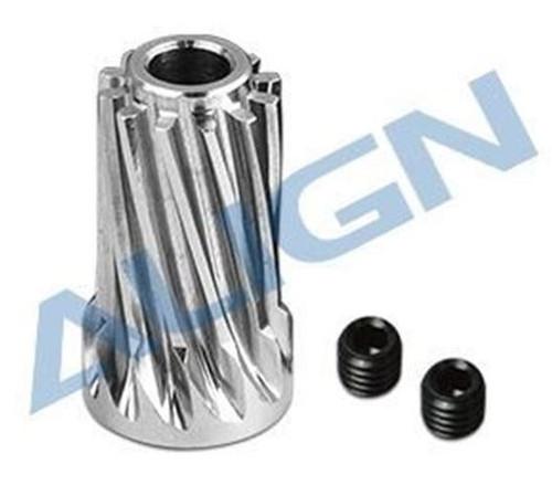 Align H70G010XXW Motor Slant Thread Pinion Gear 12T (L27)