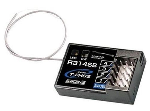 Futaba R314SB 4 Channel 2.4GHz T-FHSS Receiver For 3PV/4PLS/4PX/4PXR