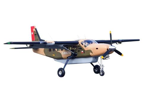 Seagull Models NEW 2021 Cessna 208 Grand Caravan EX 85in ARF Military Scheme