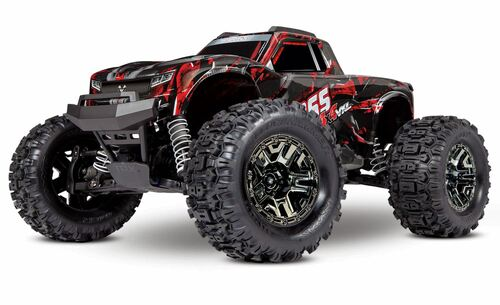 Traxxas Hoss 4X4 VXL 3S 4WD Brushless RTR Monster Truck Shadow Red