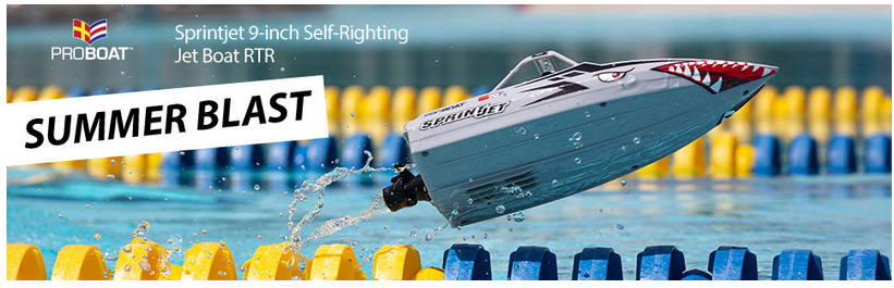 Pro Boat Sprintjet 9