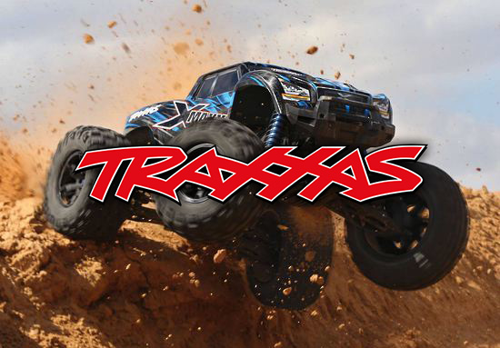 Traxxas X-Maxx Action Blue Jump