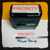 Priority Stamp Red Ink Large