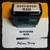 Returned Mail Stamp Black Large