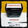 Cancelled Stamp Red Ink Large