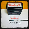 Copy For Your Information Stamp Red Ink Large