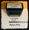 Customer Copy Stamp Black Ink Large 2