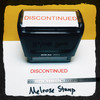 Discontinued Stamp Red Ink Large