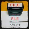 File Stamp Red Ink Large