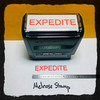 Expedite Stamp Red Ink Large