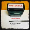 Master File Stamp Red Ink Large