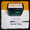 Judge's Copy Stamp Red Ink Large