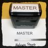 Master Stamp Black Ink Large
