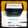 Reference Only Stamp Green Ink Large