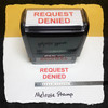 Request Denied Stamp Red Ink Large