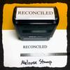 Reconciled Stamp Black Ink Large