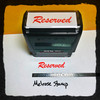Reserved Stamp Red Ink Large