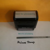 SENT FOR PROCESSING  Rubber Stamp for office use self-inking