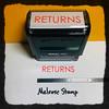 Returns Stamp Red Ink Large