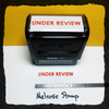 Under Review Stamp Red Ink Large
