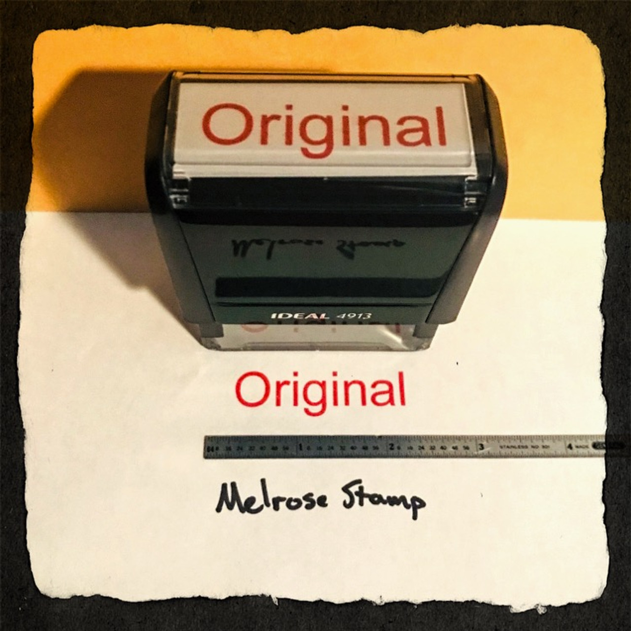 Original Stamp Red Ink Large 2