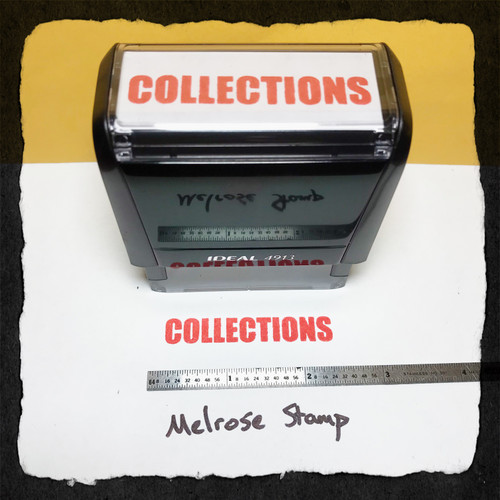 Collections Stamp Red Ink large