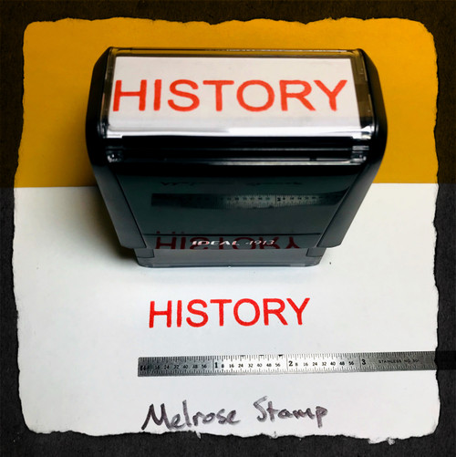 History Stamp Red Ink large