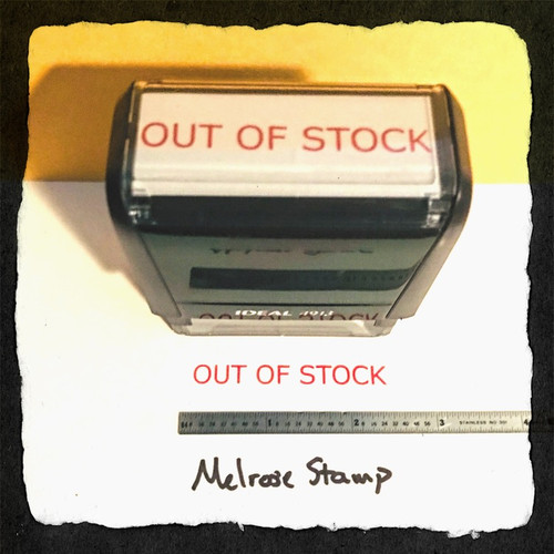 Out Of Stock Stamp Red Ink Large 2