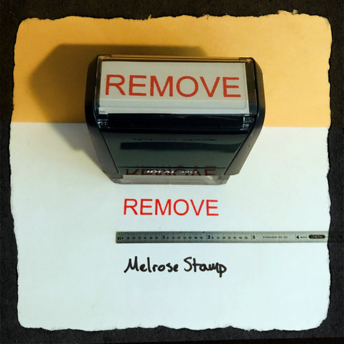 Remove Stamp Red Ink Large 2