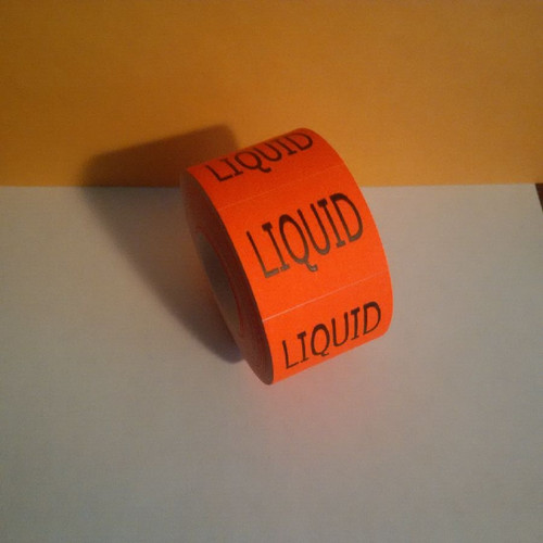 LIQUID LABELS Roll of 500 stickers for mail use