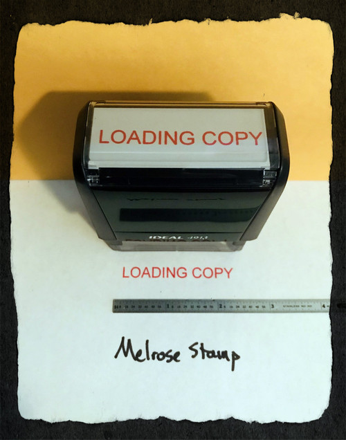 Loading Copy Stamp Red Ink Large 2