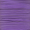 Acid Purple/Silver Stripe - 550 Paracord - 100 Feet