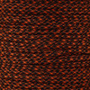 Neon Orange & Black Camo - 550 Paracord - 100 Feet