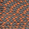 Orange and Gray Camo - 550 Paracord - 100 Feet