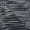 Charcoal Gray - 1/8 Shock Cord with Reflective Tracers